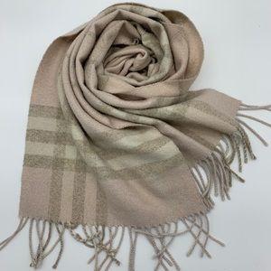 Burberry glitter scarf